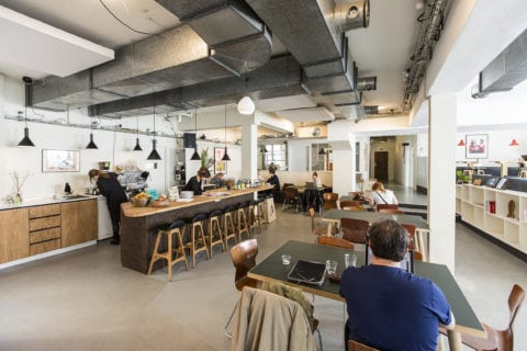 Open workspace at Vesterbro